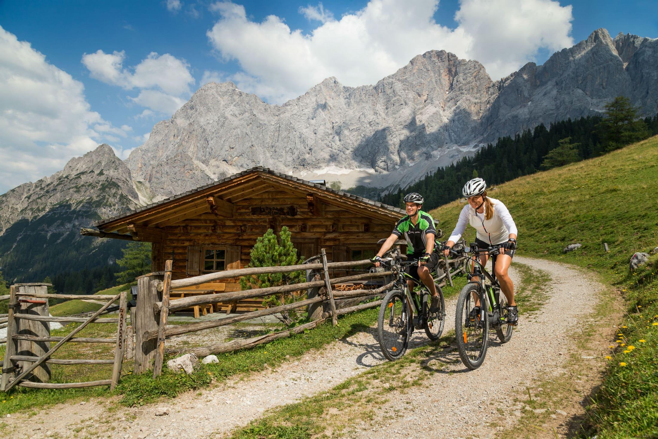 Mountainbike- und E-Bike Tour Ramsau, Bergschlößl