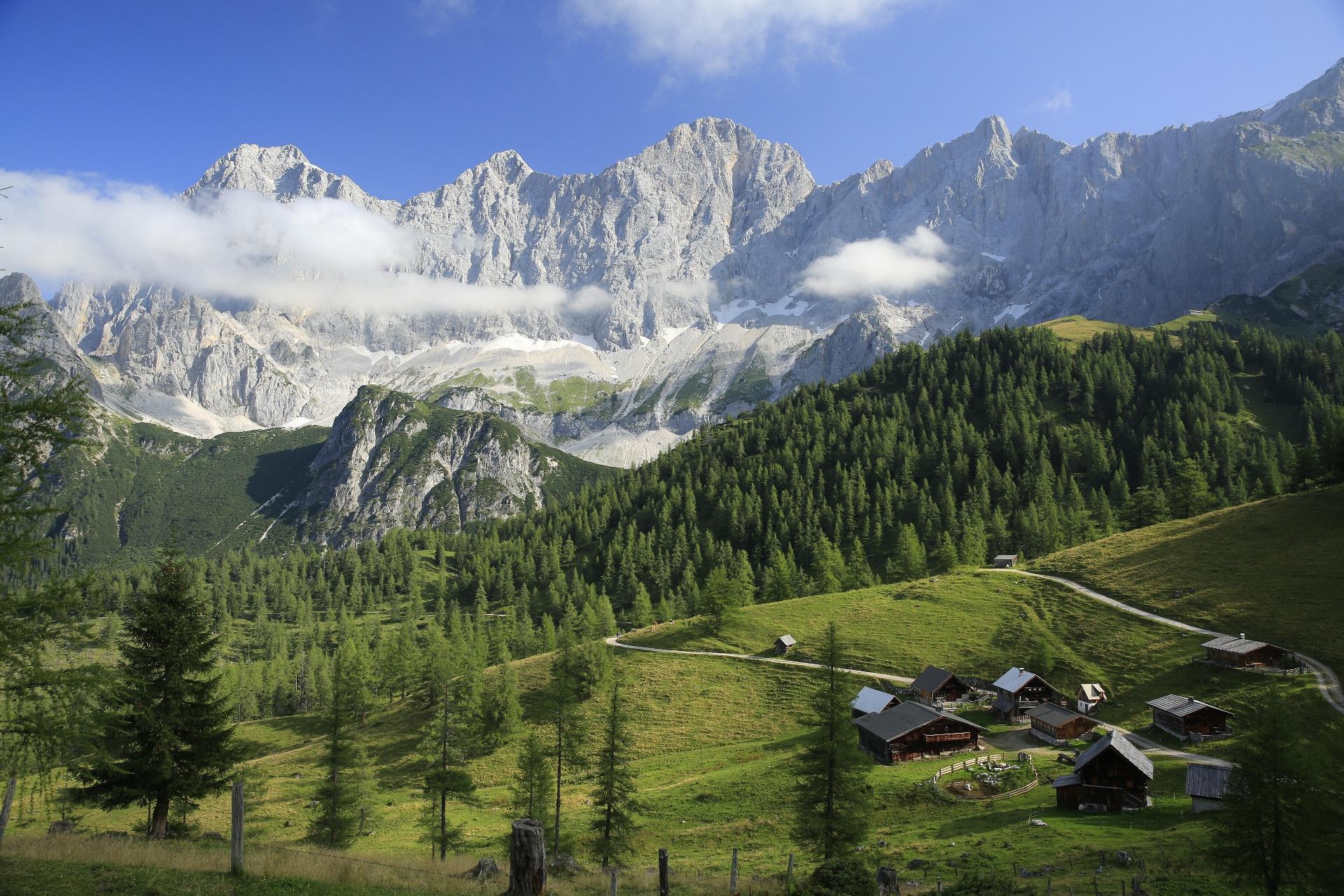Wandern, Mountainbiken, Bergsteigen - Bergschlößl Ramsau am Dachstein